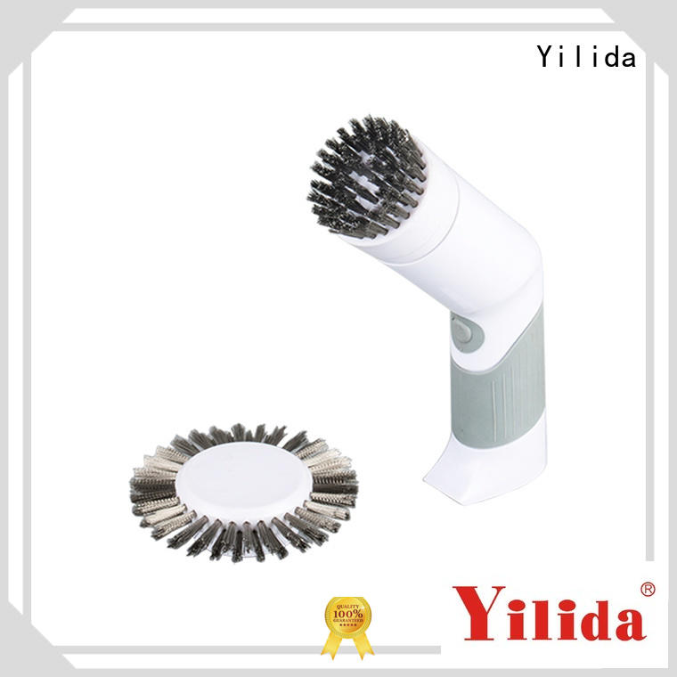 best quality electric shower scrubber stainless steel for business for wood cleaning