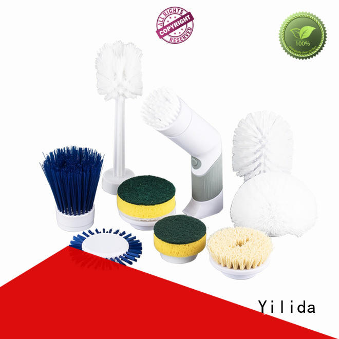 Yilida electric power cleaning brush universal for wood cleaning