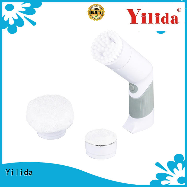 battery quickie tub and tile scrubber stainless steel for glass cleaning Yilida