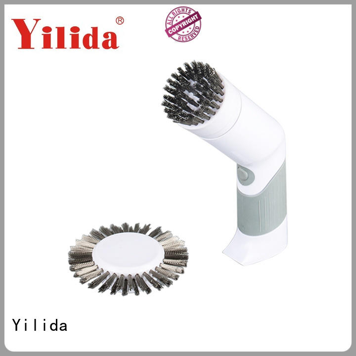 leather motorized scrub brush powered for baking utensils Yilida