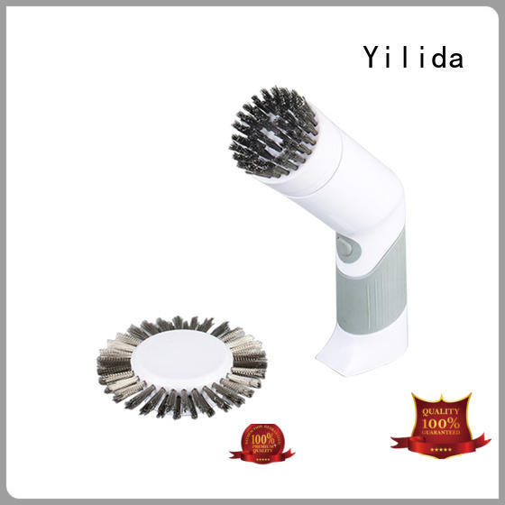 Yilida electric rotating scrub brush by bulk for leather shoes