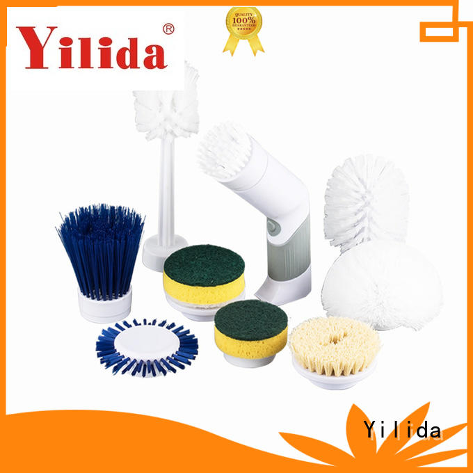 Yilida Brand powered stainless bathroom scrubber manufacture