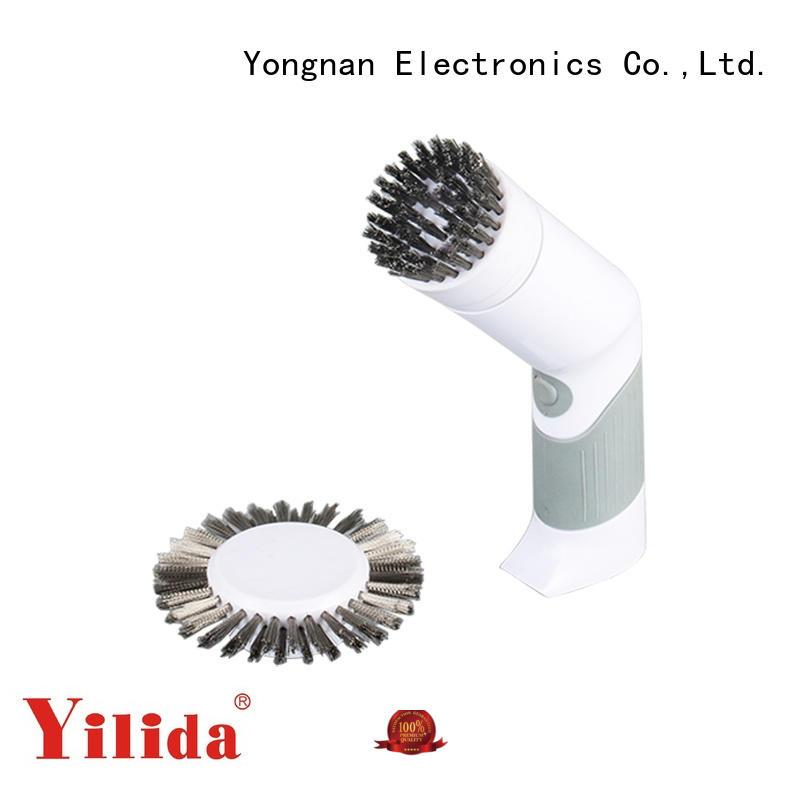 Yilida hot-sale power scrub brush for bathroom electric for ceramic