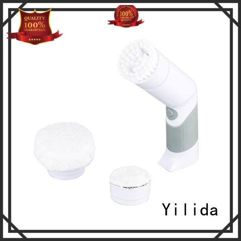 bathroom power scrubber battery for glass cleaning Yilida