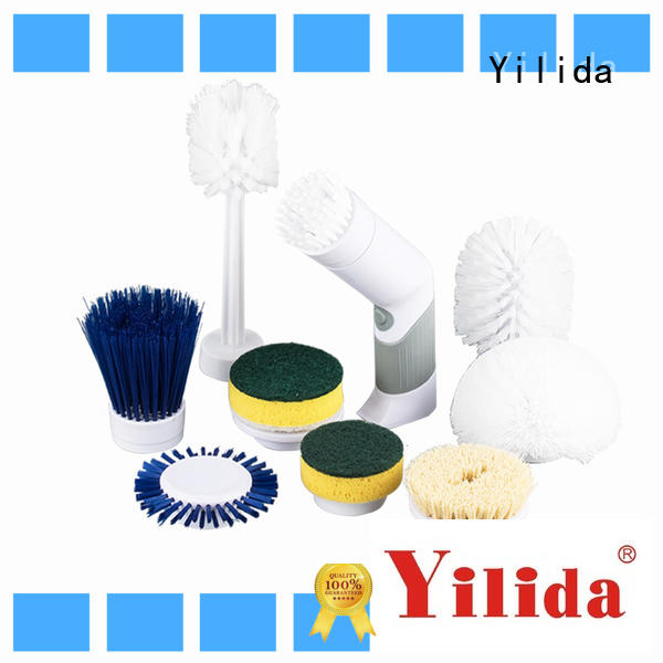 Yilida durable electric tile scrubber at sale for metal cleaning