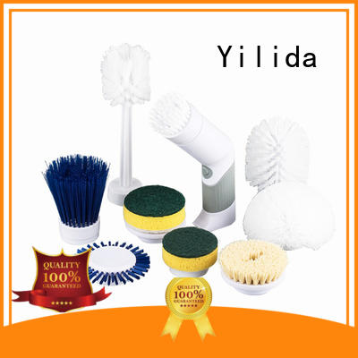 Yilida best supplier rotating scrub brush low-cost for glass cleaning