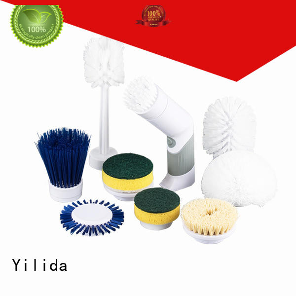 Yilida powered electric brush universal for metal cleaning