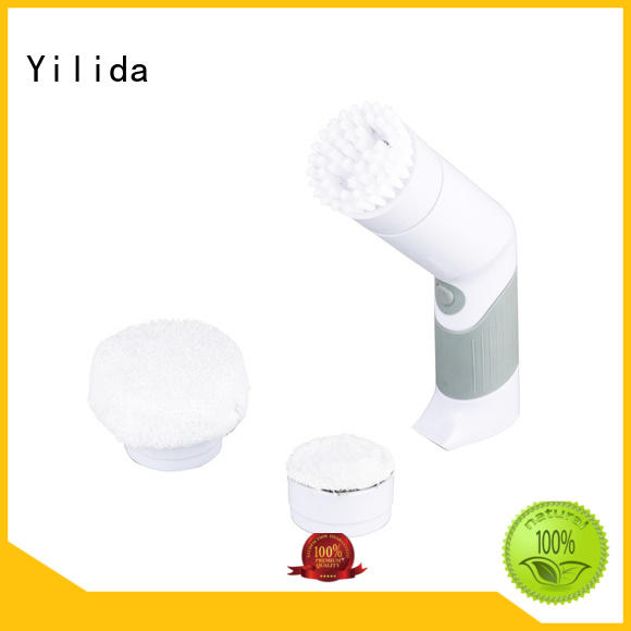 Yilida stainless steel cordless power scrubber bulk production porcelain cleaning