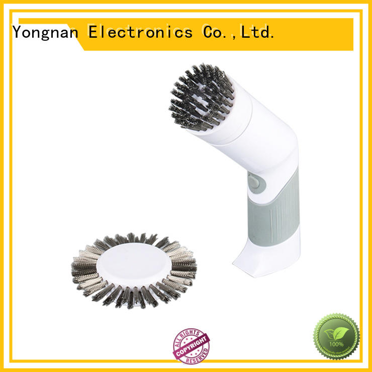Yilida handy battery operated scrub brush factory price for wood cleaning